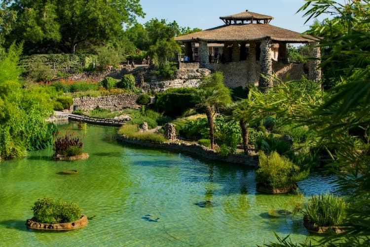 Japanese Garden in San Antonio