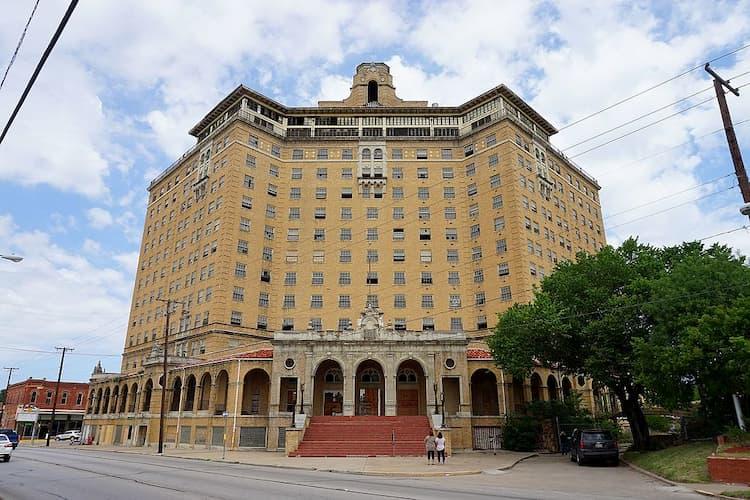 Baker Hotel exterior