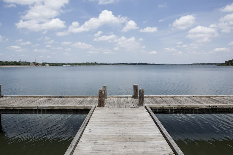 White Rock Lake dock