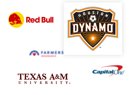 We've chartered buses for Texas A&M and the Houston Dynamo