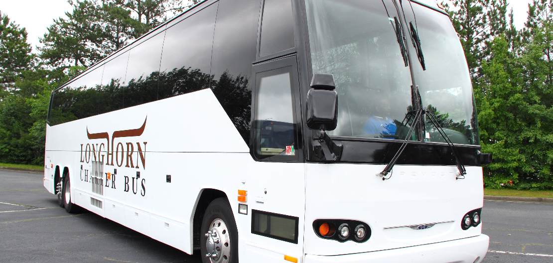 texas charter bus rental