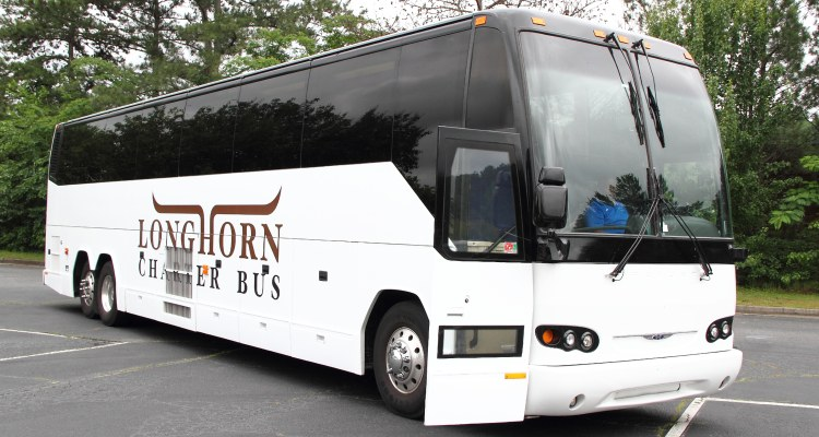 waco charter bus rental