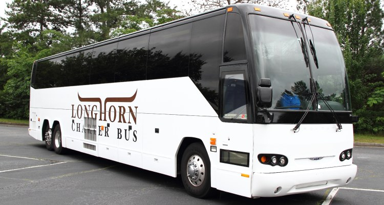houston charter bus rental