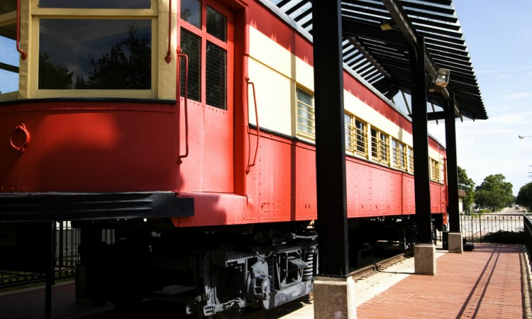 Historical Train in Plano