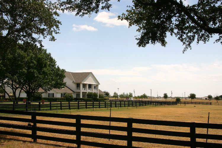 The Southfork Ranch in Plano