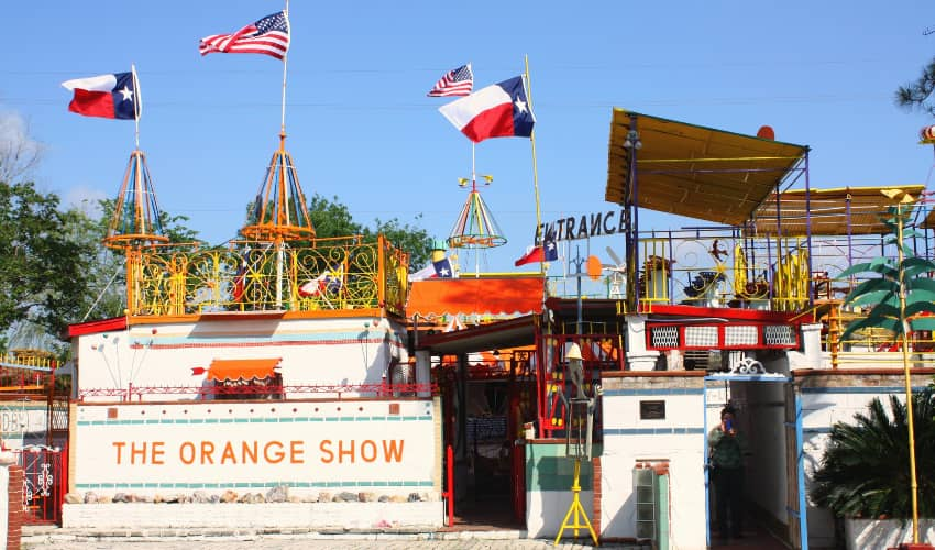 the orange show in houston